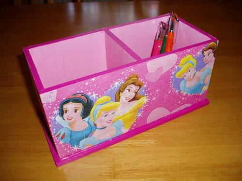 Dvojstojánek na tužky Princezny