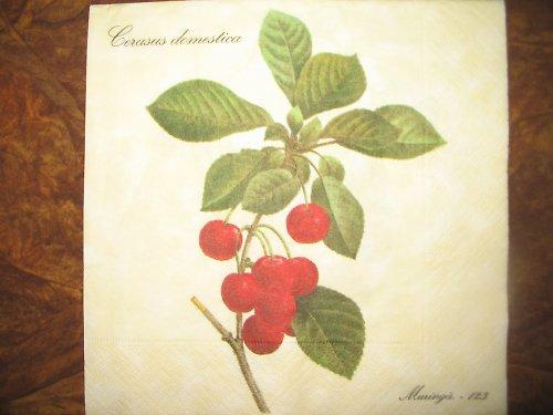ubrousek - třešně