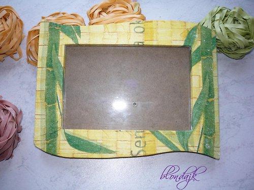 Rámeček na fotku - bambus