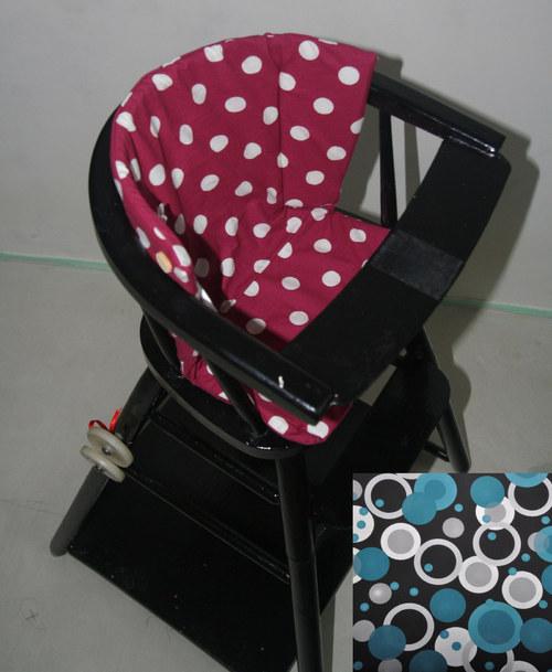 Polstrování do dětské jídelní židle