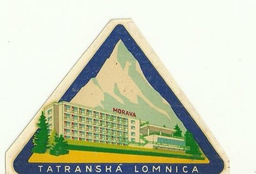 Hotelové nálepky styl Brusel Tatranská Lomnica
