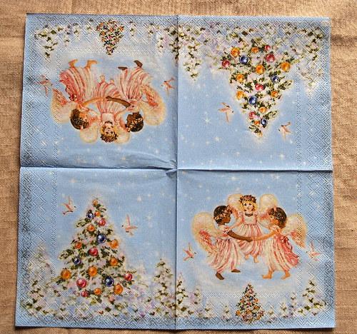 U407 tančící andělé - vánoční