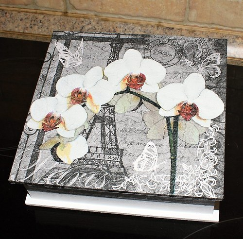 Orchidej Paříž - krabička