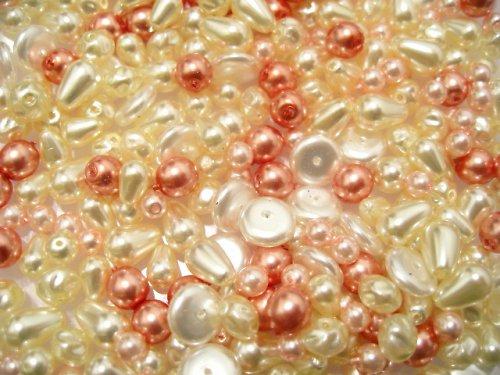 1404000/Mix malých voskových perel, 20 g