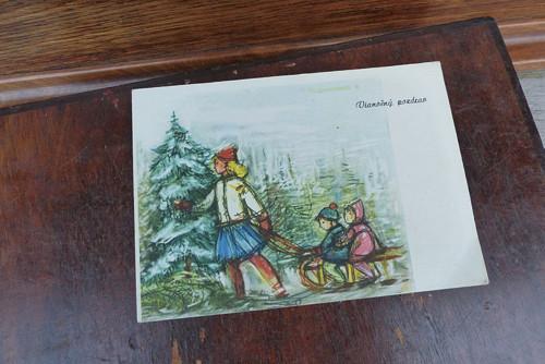Vianočný pozdrav...pohlednice