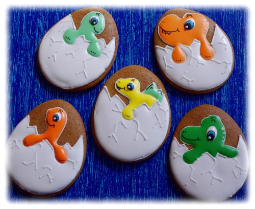 Klube se nám dinosaur :)