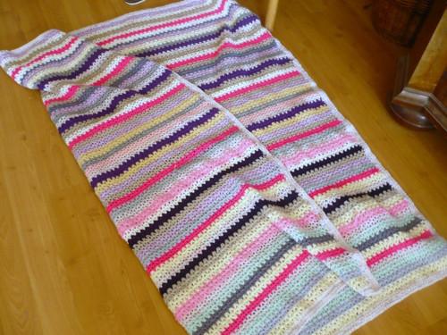 Háčkovaná deka