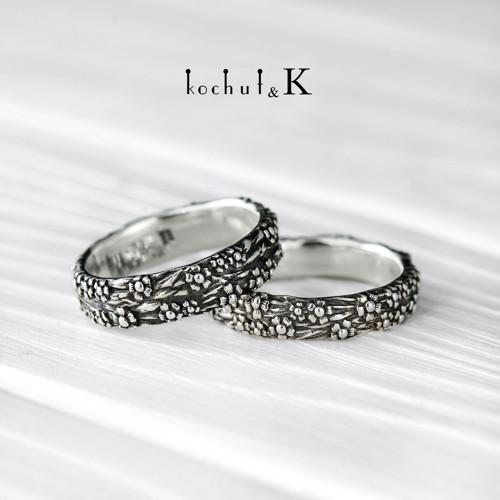 """Snubní prsteny \""""Pomněnky\"""""""