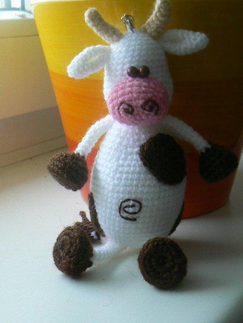 Návod na háčkovanou kravičku