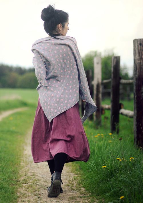 Puntíkový šátek