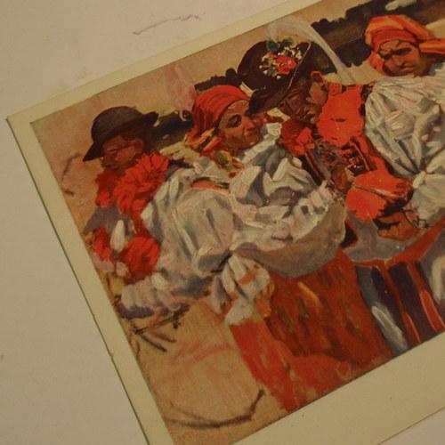 Joža Uprka O HODECH - pohlednice č. 1155