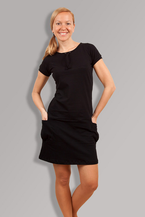 PETUNIA BLACK DRESS