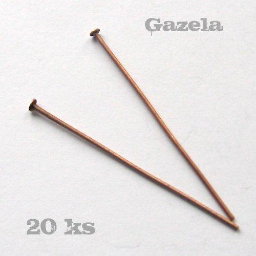 Ketlovací nýty 40 mm - 20 ks
