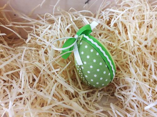 Velikonoční vajíčko - nešitý patchwork