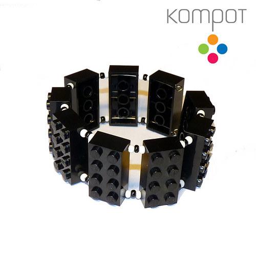 LEGO náramek :: černý