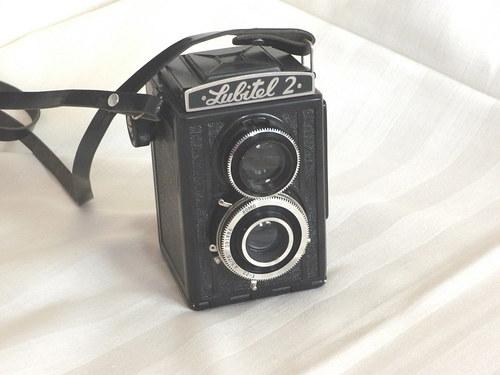 Sběratelský fotoaparát Lubitel 2