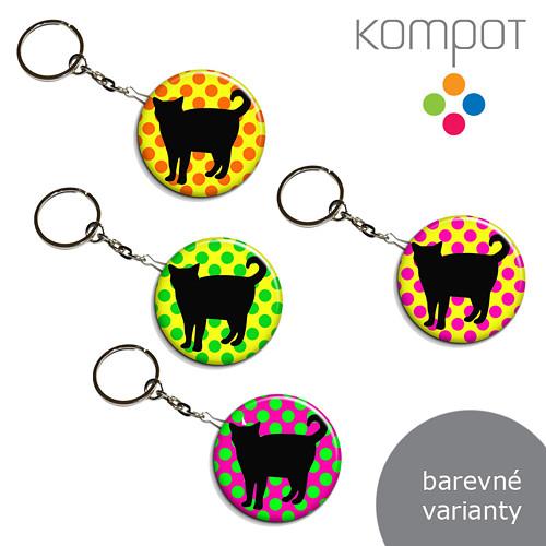 Klíčenka + otvírák :: Kočka (více variant)