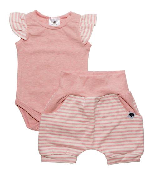 Letní kojenecký set pro miminka Sailor rose