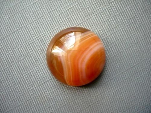 Kabošon - achát červený 20 mm, č.7w