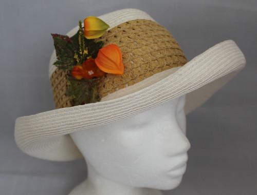 Letní klobouk bílý