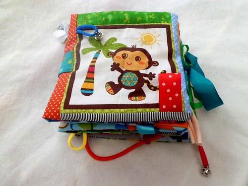 Didaktická knížka opičky Majdy..pro Danielu