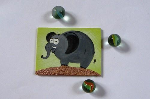 Magnet obdelníkový - slonisko