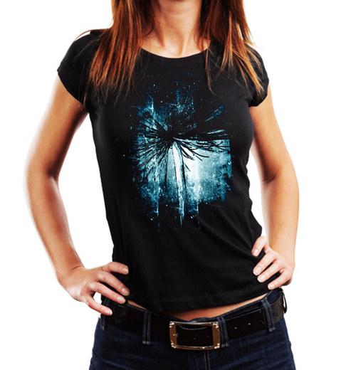 """Dámské módní tričko """"Blue"""""""