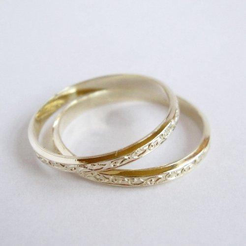 Jako po babičce - ve žlutém (snubní prsteny)