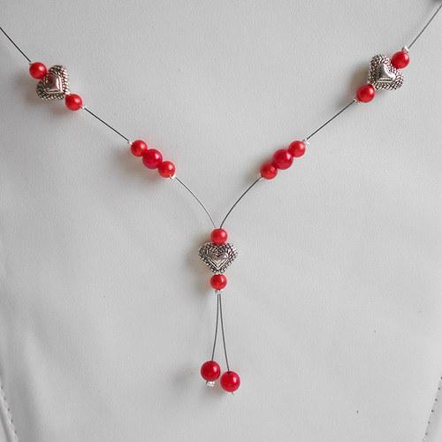 Náhrdelník Sweetheart Red