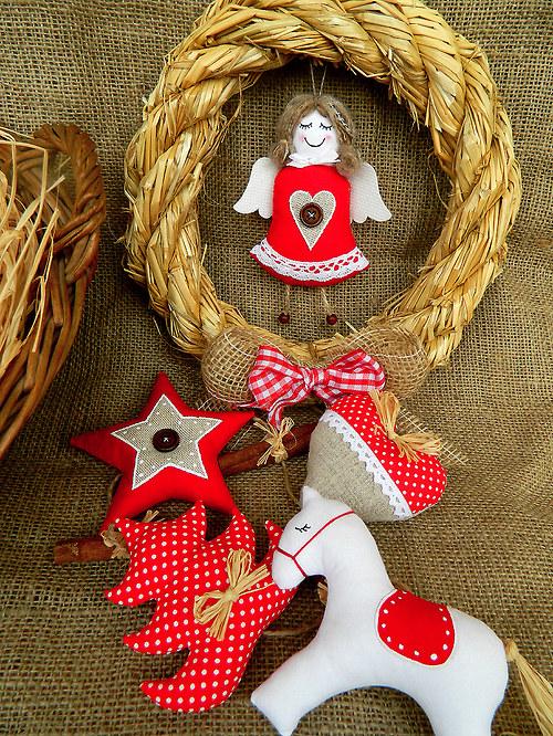 Staročeské Vánoce - girlanda