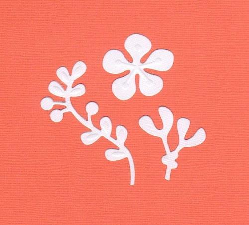 Jmelí s květem - bílé (3 ks)