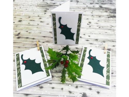 Kartička na dárky - Cesmína