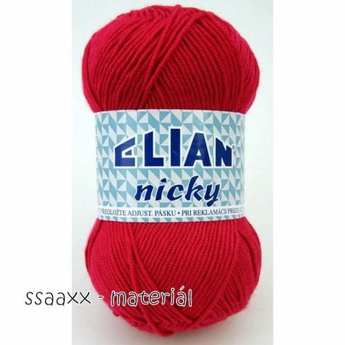Elian Nicky ~ červená 3594