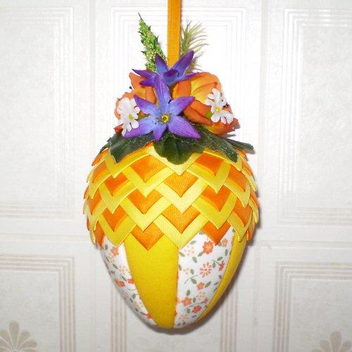 Artyčokové vajíčko - oranžovo-žluté