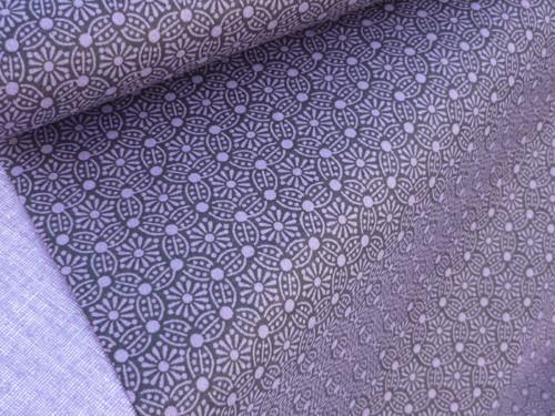 Plátno -   mandaly fialové