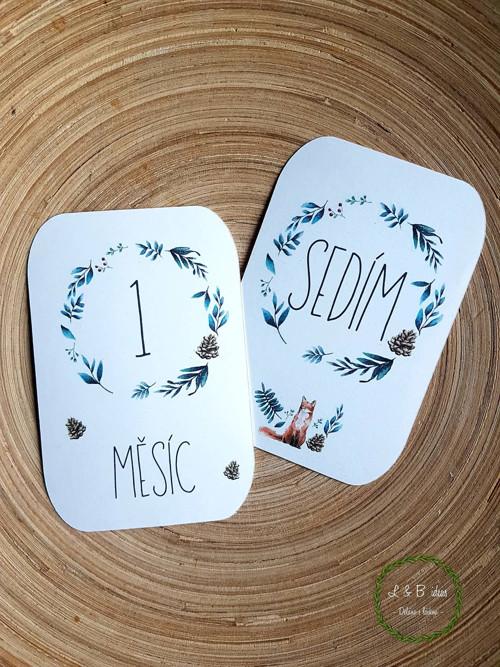 Milníkové karty - les