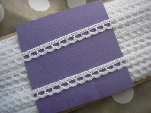 paličkovaná krajka - 100% bavlna