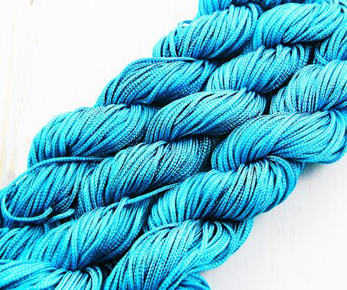 18m 57ft 19yrd Tyrkysově Modré Nylon Kabel Twisted