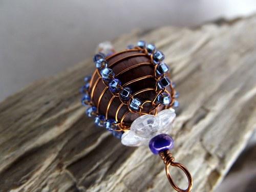 Safírově modrá kulička