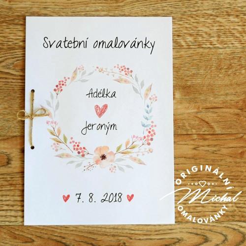 Svatební omalovánky - TYP 10