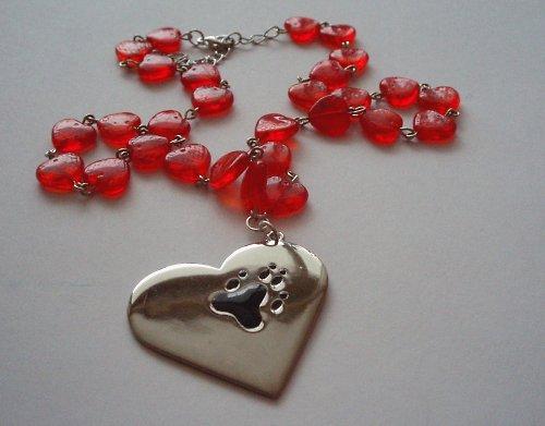 Srdíčko přátelství - náhrdelník