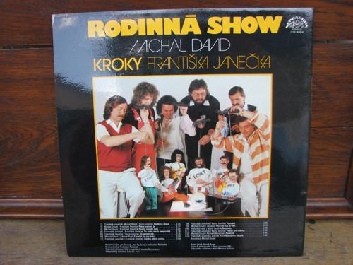 Rodinná show, Kroky Fr. Janečka, Michal David
