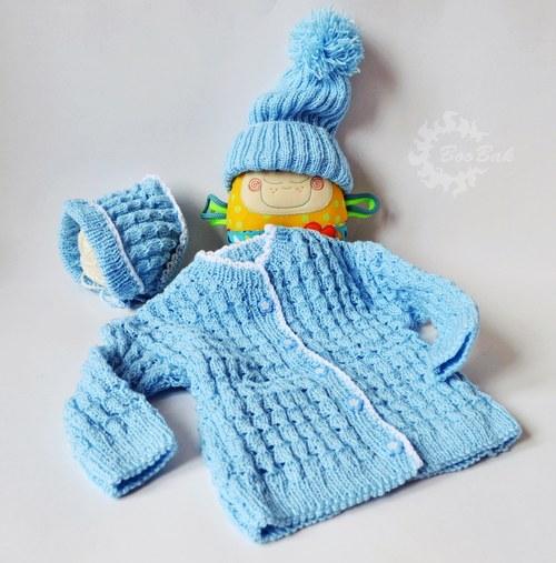 Detský set modrý