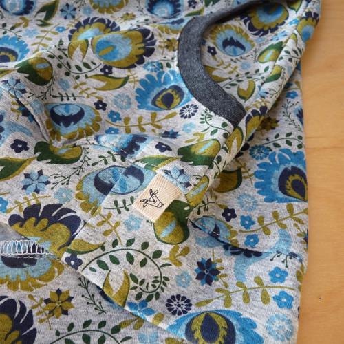 """Dámské triko...\""""Květy s pavími oky\"""""""
