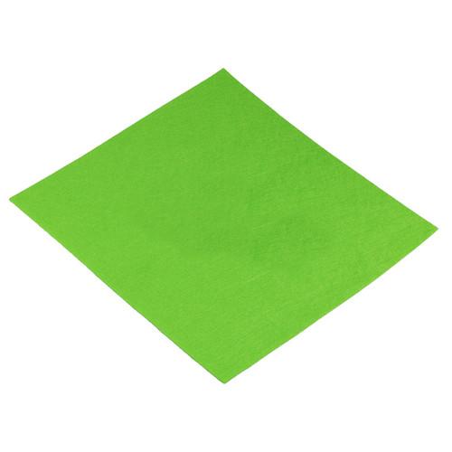 Filcový list 30x30 cm světle zelený