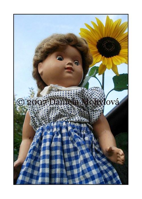 Příběhy hraček - panenka se slunečnicí