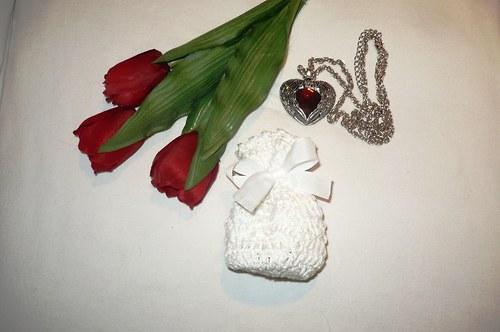 Valentýnský sáček na dárek