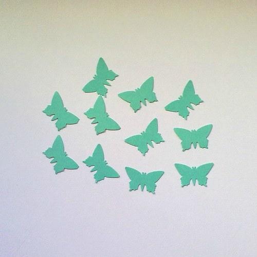 Výsek - motýl 10ks