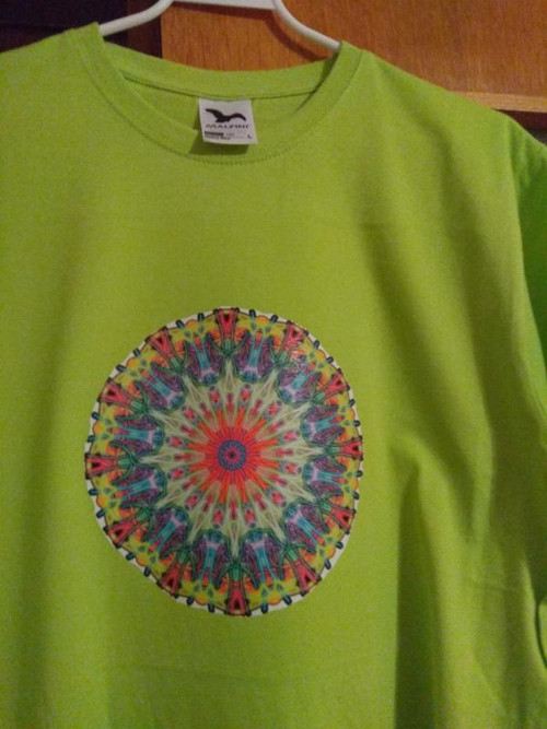 Limetka poklidná; triko meditační L