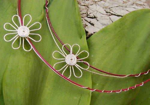 Margarétka alebo Kopretina, náhrdelník